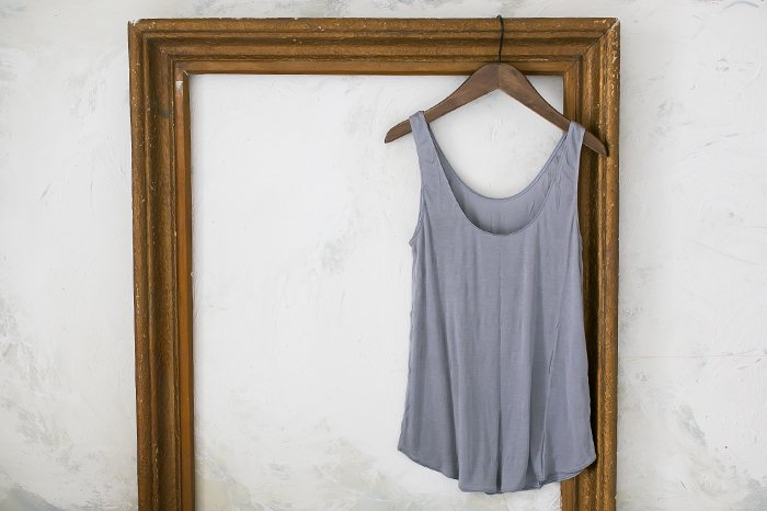 COCOONA skinwear キャミソール LIGTH GREY