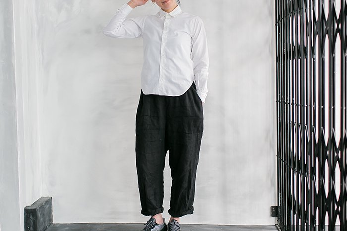 semoh シャツ WHITE