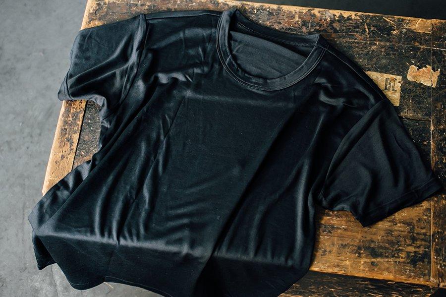 COCOONA skinwear ボーイズTシャツ BLACK