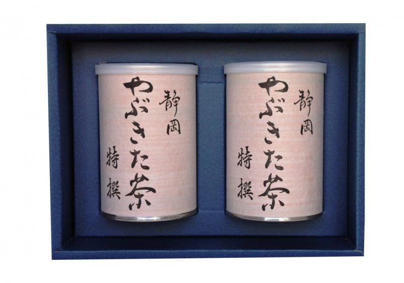 上煎茶 特選100g2本缶詰入りセット
