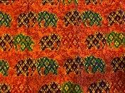 エスニックエレファント(オレンジ) | om namo shop - オナモショップ - タイハーブパットと布ナプキン&ユーファイヨガセラピー®(子宮のセルフケア)専門店