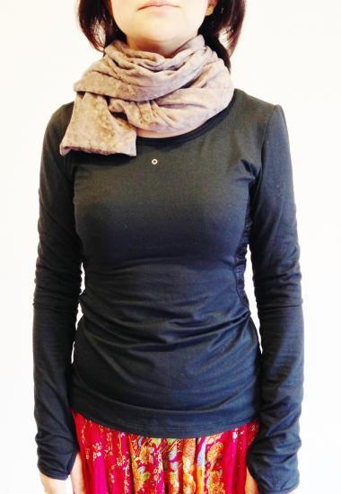 ほっかほかマフラー(ロング) | om namo shop - オナモショップ - タイハーブパットと布ナプキン&ユーファイヨガセラピー®(子宮のセルフケア)専門店