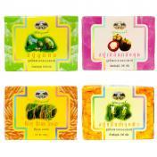 アバイブーベ国立病院 オーガニックハーブ石鹸4種類お得セット | om namo shop - オナモショップ - タイハーブパットと布ナプキン&ユーファイヨガセラピー®(子宮のセルフケア)専門店