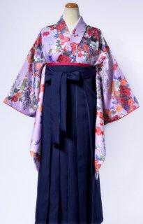 レンタル_KH09:花扇藤色に橙[F]×濃紺袴