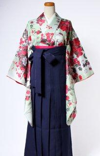 レンタル_KH13:花扇若草に紅[F]×濃紺袴