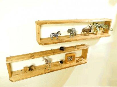 *ハンドメイド*Multipurpose Shelf(Long Type)Color:Teak