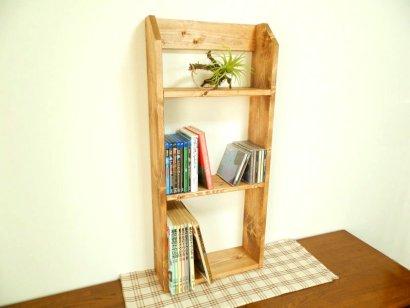 *ハンドメイド*Book Shelf ( Tall Type )Color:Teak