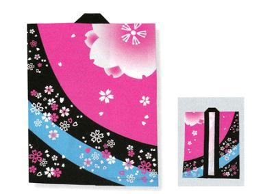 「役-6535」 黒・ピンク