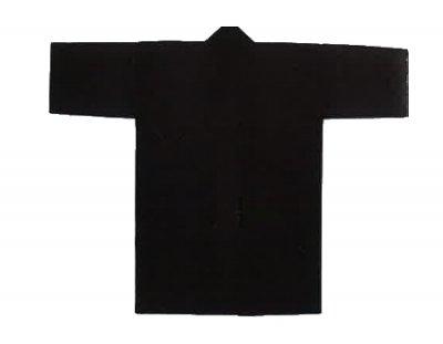 「僚-6692」 長丈 ポリエステル100% 黒