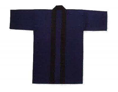 「僚-6695」 長丈 ポリエステル100% 紺