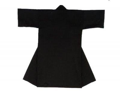 「篠-6440」 長丈 ポリエステル100% 黒