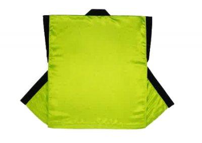 「ヨ-7701」 サテン 蛍光黄緑