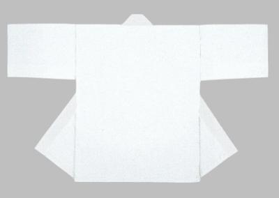 「周-6102」 白・白衿 同色帯付