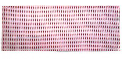 「豆絞り手拭い 赤」 1反=10枚分