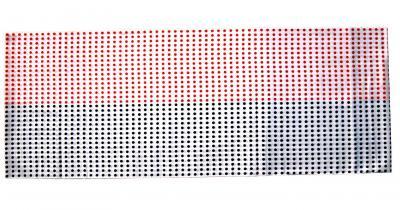 「差分豆絞り手拭い 赤・紺」 1反=10枚分