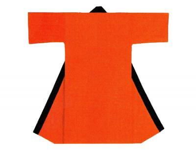 「角-9037」 長丈 オレンジ