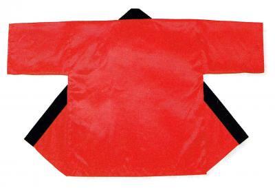 「て-9448」 サテン 赤