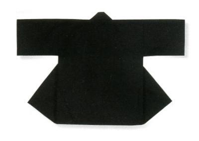 「那-6182」 子供用 黒色 同色帯付