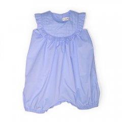 【SALE40%OFF】anais & i [アナイスアンドアイ] JUMPER ISABEL LIGHT BLUE 胸元キルティングショートロンパース(ライトブルー)