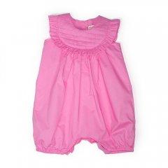 【SALE40%OFF】anais & i [アナイスアンドアイ] JUMPER ISABEL PINK 胸元キルティングショートロンパース(ピンク)
