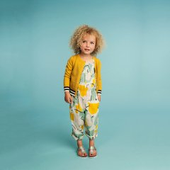 【SALE30%OFF】kids case Lilly suit C. yellow キッズケース サロペット(イエロー)