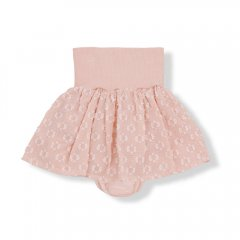 【SALE40%OFF】1+ in the family NORA skirt ibiscus ワンモアインザファミリー スカート付きブルマ(ピンク)