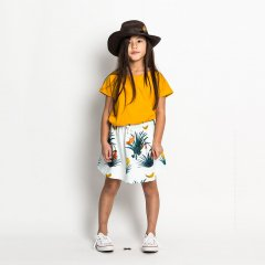 【SALE40%OFF】missiemunster JERSEY SKIRT PALM ISLAND TROPICS スカート(トロピカル)