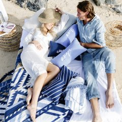 【SALE30%OFF】The Beach People BEACH CUSHION ESCAPE ビーチピープル エアークッション(エスケープ)