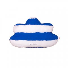 【SALE10%OFF】Noe & Zoe blue Little Cloud Pillow stripes XL ピロークッション(ブルーストライプ/S)