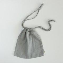 Numero74 NANA SWADDLES BAG Silver Gray ヌメロ74 ナナスワドル バッグ(グレー)