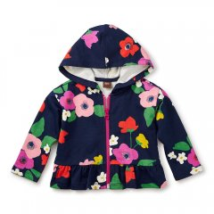 【SALE20%OFF】Tea Collection Scottish Garden Bb Zip Hoodie MARITIME BLUE ティコレクション フード付パーカー(ブルー)