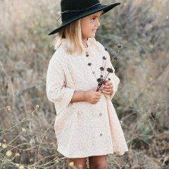 【SALE40%OFF】Rylee + Cru scatter button shirt dress blush ライリーアンドクルー ボタンワンピース(ペールサーモン)