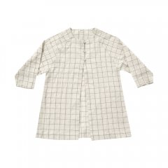 【SALE20%OFF】17AW Rylee + Cru check woven duster vanilla ライリーアンドクルー ライトロングジャケット(チェック)