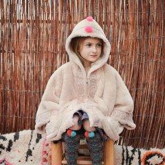 17AW Louise Misha Coat Felvet Beige ルイーズミーシャ フェイクファーフード付コート(ベージュ)