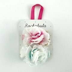 Rockahula Kids FOREST FLOWER CLIPS ロッカフラキッズ フラワーヘアクリップ(マルチ)