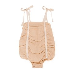 【SALE40%OFF】Little Creative Factory Fairy Baby Playsuit 003/NUDE リトルクリエイティブファクトリー 肩紐リボンボディ(ヌード)