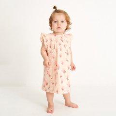 18SS Soft Gallery Bebe Dress 037. Pale Dogwood, AOP Blossom ソフトギャラリー ブロッサムワンピース(ピンク)
