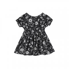 【SALE30%OFF】Rylee & Cru kat t-shirt dress floral midnight ライリーアンドクルー 半袖ワンピース(花柄)