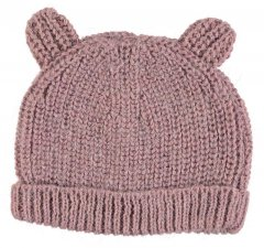 18AW tocoto vintage KNITTED BEAR CAP  PINK トコトヴィンテージ ニットベアキャップ(ピンク)