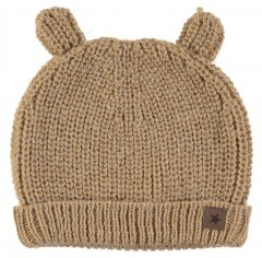 【SALE20%OFF】tocoto vintage KNITTED BEAR CAP  MUSTARD トコトヴィンテージ ニットベアキャップ(マスタード)