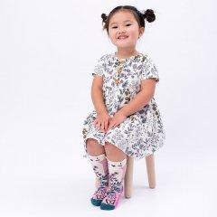 Billy Loves Audrey Springtime Cat Midi Socks ビリー ラブス オードリー ミディアム丈ソックス(キャットスプリング)