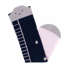 Billy Loves Audrey Reach For The Stars Cloud Knee High Socks - Navy ビリー ラブス オードリー ハイソックス(雲&星/ネイビー)