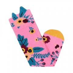 Billy Loves Audrey Garden Knee High Socks - Pink ビリー ラブス オードリーハイソックス(ガーデン/ピンク)