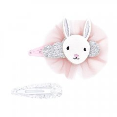 【SALE30%OFF】Billy Loves Audrey Dreaming Bunny 2Pk Clip Set ビリー ラブス オードリー バニー&スリーピン ヘアクリップ2点セット