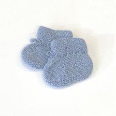 OLIVIER Garter Bootees Vintage Blue オリビエ カシミアブーティ(ヴィンテージブルー)