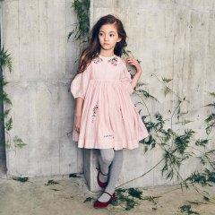 【SALE30%OFF】Nellystella Vaness Dress Peony Petal ネリーステラ 肩開きワンピース(ピンク)