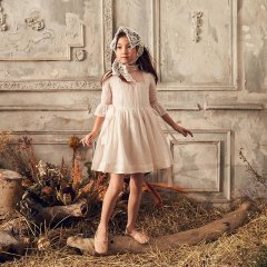 LOVE by Nellystella Georgia Dress Petal Pink ラブバイネリーステラ ジョージアドレス(ライトピンク)