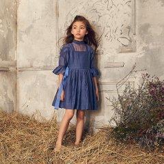 LOVE by Nellystella Georgia Dress Venture Violet ラブバイネリーステラ ジョージアドレス(バイオレット)