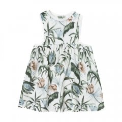 【SALE20%OFF】Rylee and Cru tropical layla mini dress coconut トロピカル柄ミニワンピース(ココナッツ)