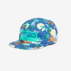KENZO FRAN DARK BLUE ケンゾー 'Hawai'キャップ(ダークブルー)